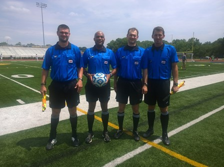 CSOA Referee Crew - Boys 5A State Final - June 13, 2015
