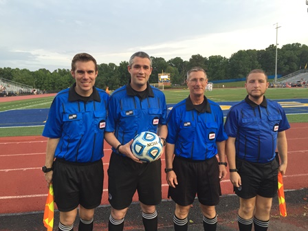 CSOA Referee Crew - Boys State Semifinal - June 12, 2015
