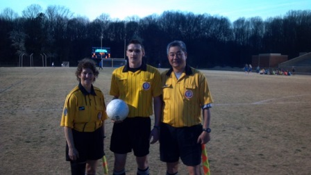 Spring Soccer - South Lakes HS ref crew